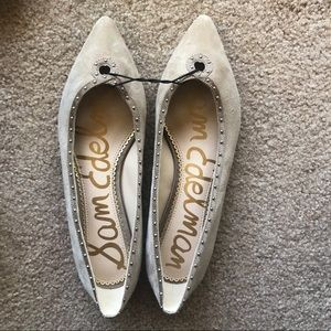 Sam Edelman Studded Pointed Flats Great Condition